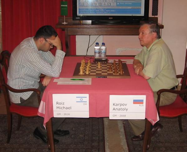 Израильский гроссмейстер михаил ройз